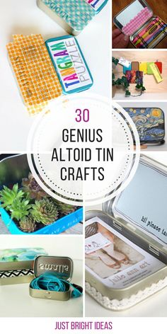 So many brilliant Altoids tin crafts here - I'm going to make some of these for gifts!