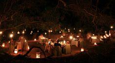 Fairytale setting for Earth Hour at Serra Cafema