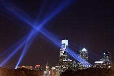 Open Air, an interactive art installation designed to transform Philadelphia's historic Benjamin Franklin Parkway, between September 20 and October 14, 2012.