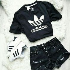 Make her happy again - Teenager outfits - Cute Teen Outfits, Teenage Girl Outfits, Cute Comfy Outfits, Cute Outfits For School, Teen Fashion Outfits, Sporty Outfits, Teenager Outfits, Swag Outfits, Cute Summer Outfits