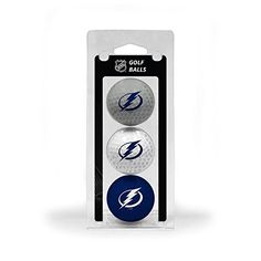 NHL Tampa Bay Lightning 3Ball TriColor Golf Ball Set >>> Click on the image for additional details.