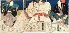 sumo | Sumo - Utagawa Kunisada - WikiPaintings.org