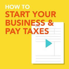 How to set up your freelance business and pay taxes