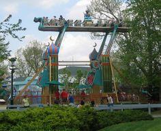kennywood park | Flying Carpet @ Kennywood in Pennsylvania - Theme Park Critic