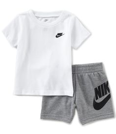 88e50ae248 Shop for Nike Baby Boys 12-24 Months Crew Neck Short Sleeve Tee &