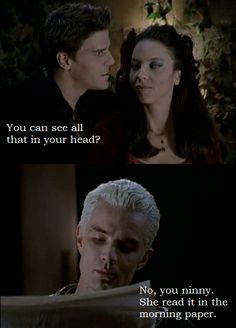 Spike, Dru  Angel