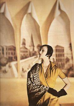 Louise Dahl-Wolfe, Mary Jane Russell, Harper's Bazaar, 1950