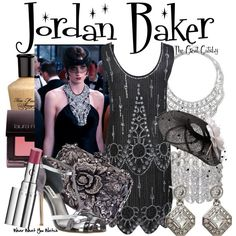 Inspired by Elizabeth Debicki as Jordan Baker in 2013's The Great Gatsby.