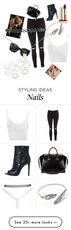 """""""Untitled #624"""" by fashionicon67 on Polyvore featuring Glamorous, Pierre Balmain, Givenchy, Chanel, Forever 21 and Wet Seal"""