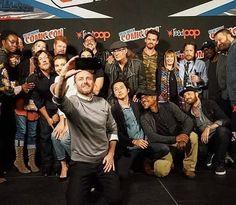 The Walking Dead Cast and Family at New York Comic Con #thewalkingdead #twd #thewalkingdeadseason7 #twdfamily #twdfinale #amc #walkingdead #rickgrimes #andrewlincoln #norman #normanreedus #daryl #dixon #michonne #chandler #chandlerriggs #carl #carlgrimes #carol #negan #lucille #maggie #glenn #love