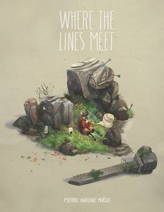 """peahart:  """" Hey guys ! My artbook """"where the lines meet"""" will be back in my store next monday ,limited number of copies though ! 9.11.15 . Save the date :)  http://peahshop.tictail.com  Mon artbook """"Where the lines meet"""" se ra de nouveau disponible dans..."""