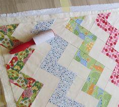 Easy zigzag quilt