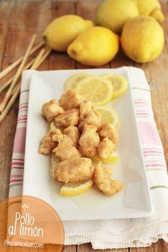 Pollo al limón, ¡una receta refrescante! Family Meals, Kids Meals, Easy Meals, Meat Lovers, Easy Cooking, Salad Recipes, Tapas, Chicken Recipes, Turkey