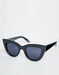 Immagine 1 di ASOS - Occhiali da sole a occhi di gatto flat top