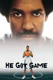 He Got Game is a 1998 American sports drama film written, produced and directed by Spike Lee . The film stars Denzel Washington a. Denzel Washington, Top Movies, Movies To Watch, Basketball Movies, Hill Harper, He Got Game, Movie Party, Game Movie, Movie Film