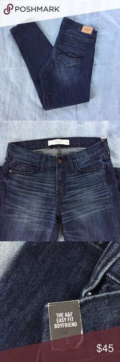 Abercrombie & Fitch Relaxed Boyfriend Jeans These are brand new and in perfect condition. Abercrombie & Fitch Jeans Boyfriend