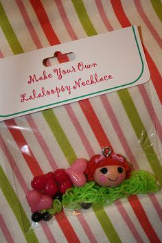 Lalaloopsy necklace