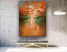 Abstract Art-Original Painting Industrial DecorDine Room image 2 Large Artwork, Colorful Artwork, Extra Large Wall Art, Bathroom Wall Art, Office Wall Art, Modern Wall Decor, Texture Art, Original Paintings, Abstract Art