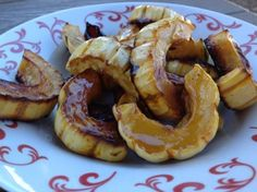 Maple-Glazed Delicata Squash