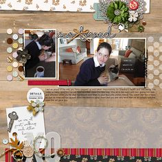 Ideas for Scrapbook Page Storytelling with an English Countryside Style | Stefanie Semple | Get It Scrapped