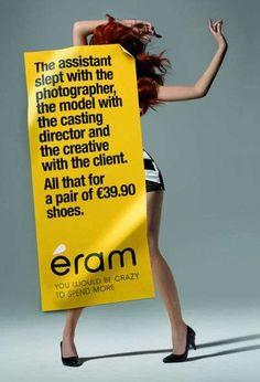 love these ads, repinned by www.BlickeDeeler.de
