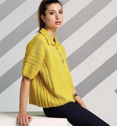 Желтый пуловер-поло. Обсуждение на LiveInternet - Российский Сервис Онлайн-Дневников