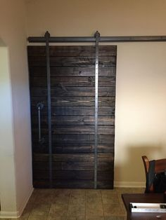 Trendy sliding doors are surprisingly simple to make!