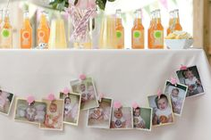 Cute as a Button First Birthday Party :: Party Inspiration | The TomKat Studio