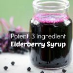 This simple elderberry syrup with only 3 ingredients is a highly effective remedy for colds, flu and coughs and yet delicious enough to drizzle on pancakes! The post Simple Homemade Elderberry Syrup appeared first on Aktuelle. Flu Remedies, Herbal Remedies, Natural Medicine, Herbal Medicine, Natural Health Remedies, Canning Recipes, Healthy Drinks, Herbalism, Crockpot