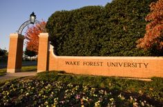 Wake Forest University | Wake Forest University goes water permeable with local clay pavers ...