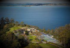 An aerial view of Glen Albyn Estate #glenalbynestate #riverderwent #wedding #eventhire