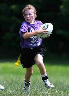 true fact: I adore pictures of little kids playing rugby.