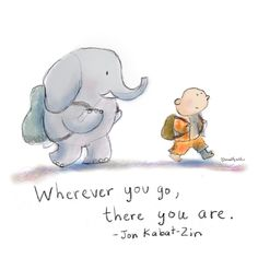Buddha Doodle: Wherever you Go...