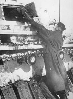 Image result for german panzer 3 tank loading ammo