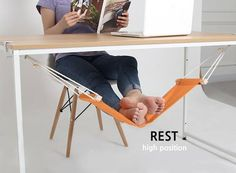 A hammock for your feet