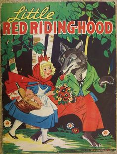 ''Little Red Riding Hood'' Merrill 1937 illustrated by Maginel Wright Barney  | eBay