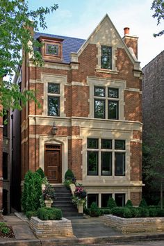 traditional exterior by Burns and Beyerl Architects - gosh wish this was mine