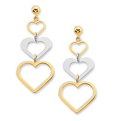 Fashion gold earrings ideas in this photo gallery.