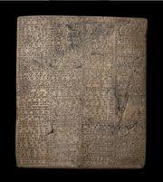 A record of Nebuchadnezzar's successes Stone 605 BC -562 BC © The Trustees of the British Museum