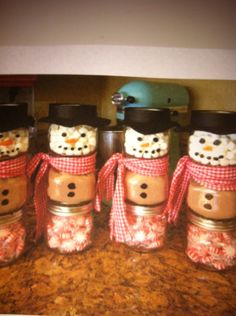 Cute idea with baby food jars