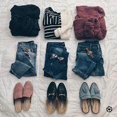 Flatlay Style / Spring Style / Women's Fashion / Women's Style / Style Inspiration / Women's Trends / Fashion Inspiration