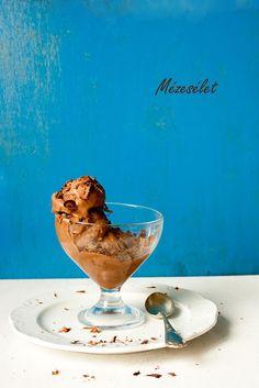 Mézesélet: Mascarponés csokoládéfagylalt