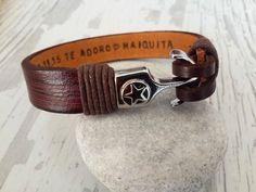 Men's Personalized BraceletMen's Leather Bracelet by tovvanda