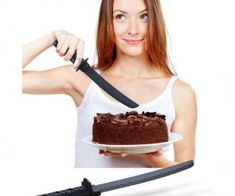 Самурайский торт-нож
