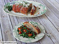 Turkey Pesto Meatloaf With Tomato Sauce Recipes — Dishmaps