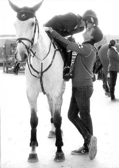 Men who are happily married to women who love horses are a special, patient breed.