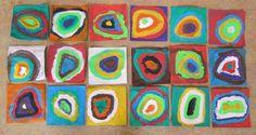Afbeeldingsresultaat voor thema kunst kleuters