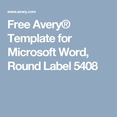 avery 89107 template