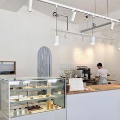Home Decoration Online Shopping Code: 6221458809 Cafe Shop Design, Cafe Interior Design, Bakery Design, Korean Coffee Shop, Coffee Shop Aesthetic, Aesthetic Stores, Kpop Aesthetic, Art Cafe, Korean Cafe