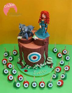 - Brave Cake and cake pops
